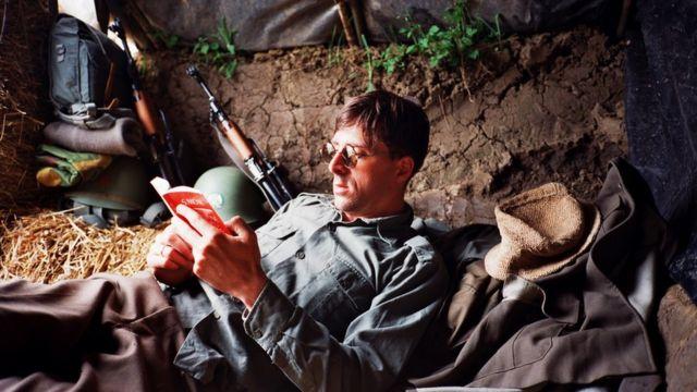 Srđan Veljović kao vojnik na Kosovu