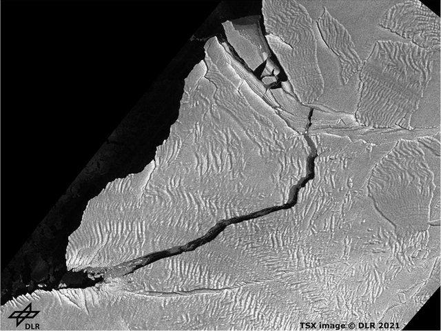 A74 iceberg