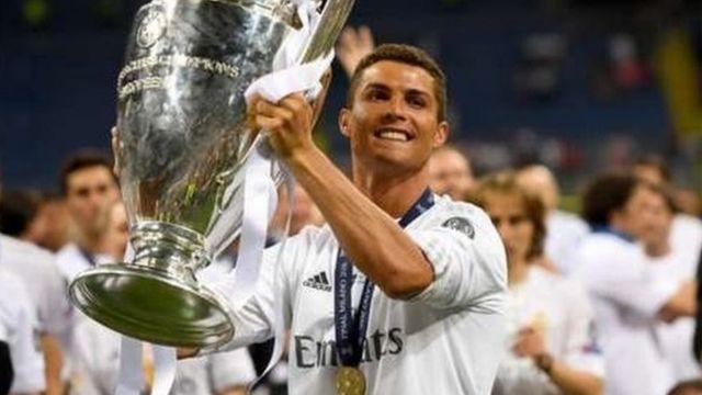 Ronaldo ya lashe kyautar Ballon D'or