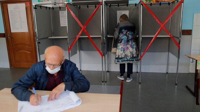 Голосование в Томске