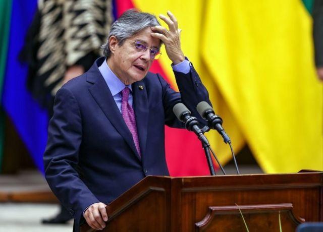 Ekvador Devlet Başkanı Guillermo Lasso