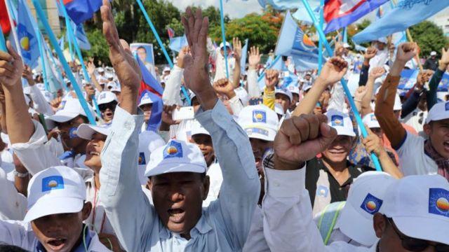 Партия национального спасения Камбоджи является главным оппозиционным движением в стране