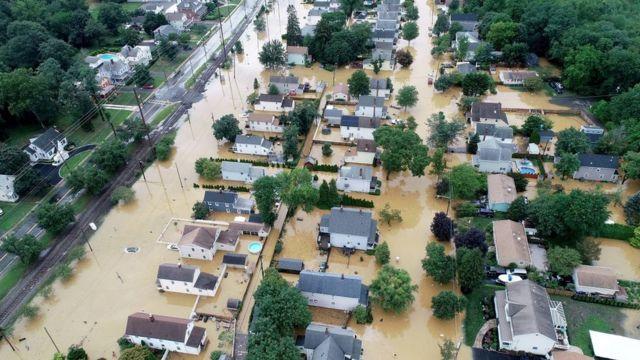 Наводнение в Нью-Джерси