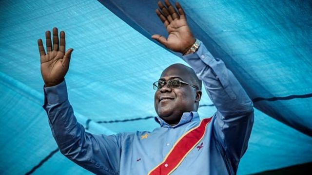 Rais Felix Tshisekedi wa DRC