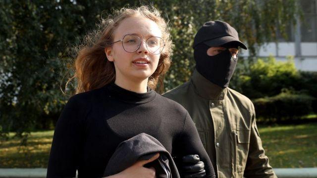 """Задержания на """"Женском марше"""" в Минске"""