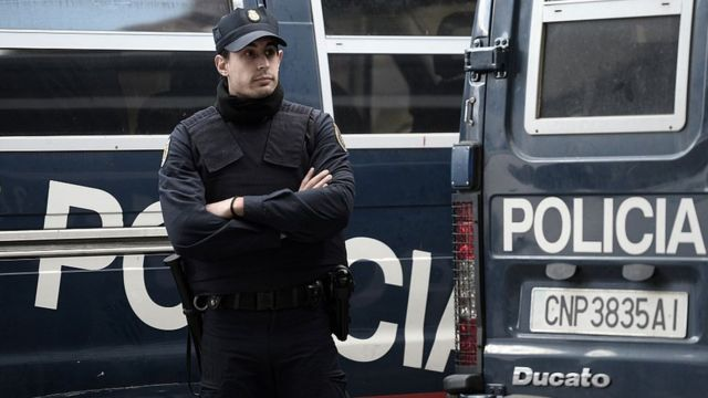 Полиция Барселоны