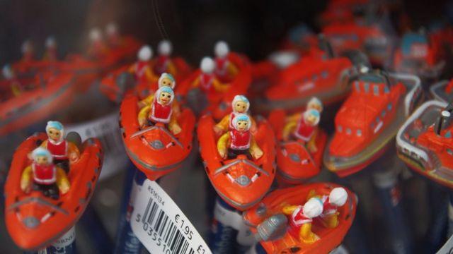 Lápices de promoción de la Royal National Lifeboat Institution