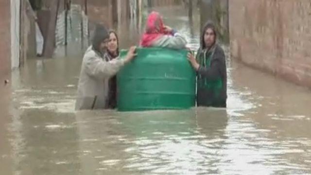 बाढ़ पीड़ित