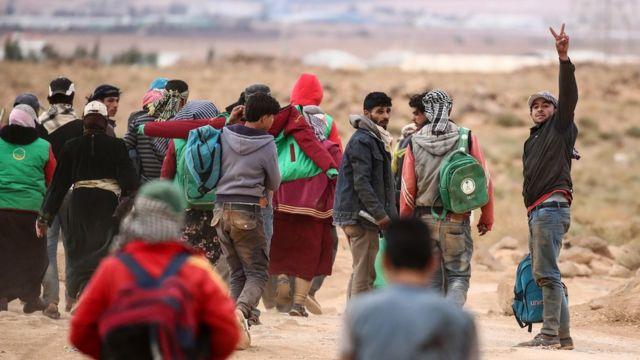 'Yan gudun hijirar rikicin Syria