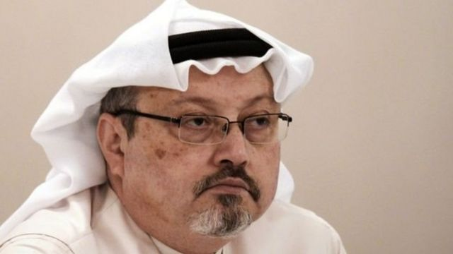 Khasoggi dibunuh tanggal 2 Oktober di konsulat Saudi di Turki.