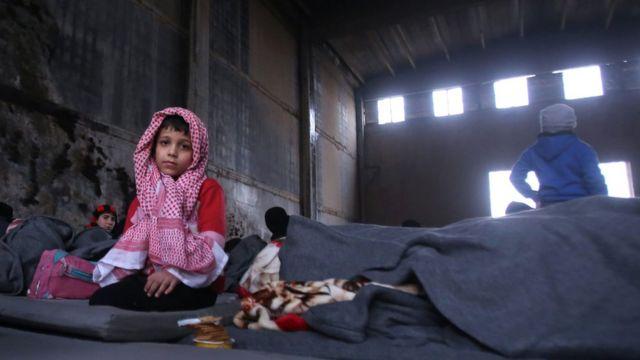 أسرة سورية في حلب