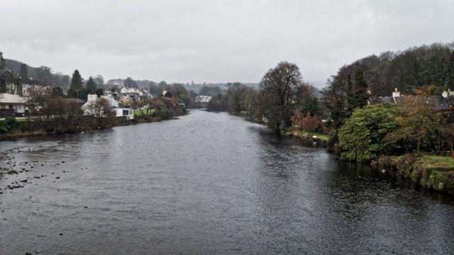 El río Cree en Escocia