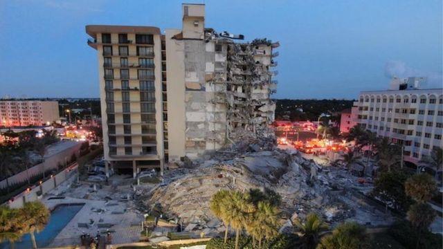 O que se sabe sobre desabamento de prédio que deixou 1 morto e 99  desaparecidos em Miami - BBC News Brasil