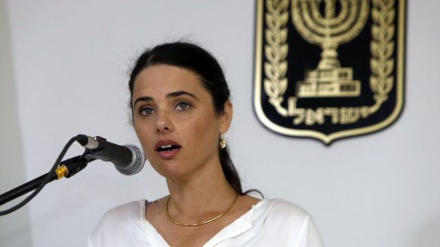 وزيرة العدل الإسرائيلية
