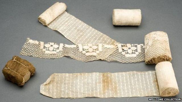 Ataduras usadas na 1ª Guerra Mundial