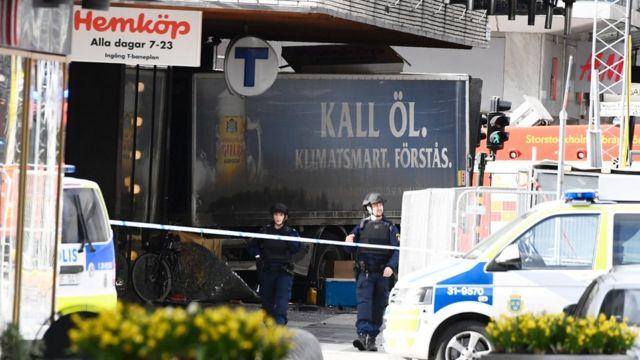 Stockholm saldırısı