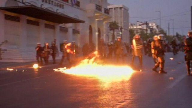 Greek clashes