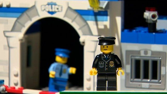 The role of police and crime commissioners played out in Lego