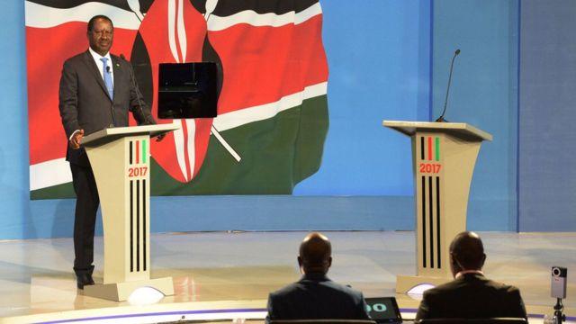 élection Kenya, debat télévisé, raila odinga vs uhuru kenyatta
