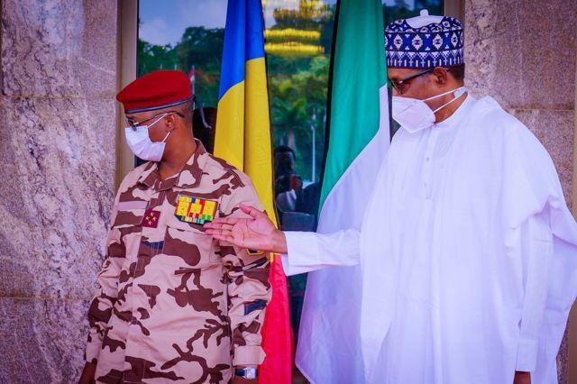 Buhari da Mahamat Idris Deby