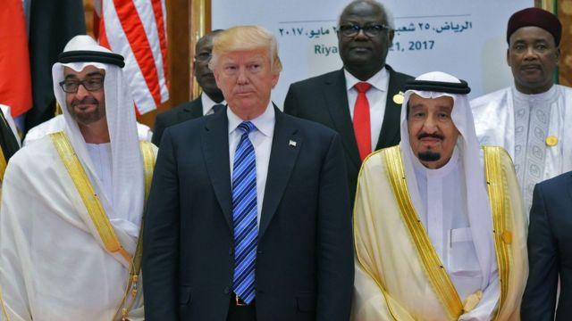 ټرمپ په سعودي کې