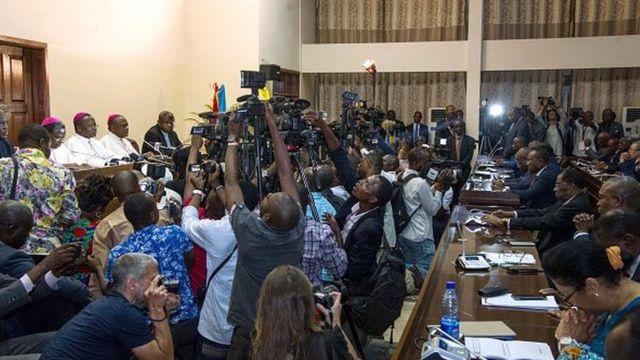 La classe politique congolaise a trouvé un accord vendredi sous l'égide de la Conférence épiscopale nationale (Cenco)