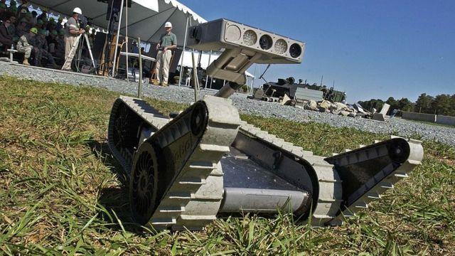امریکی فوجی روبوٹ