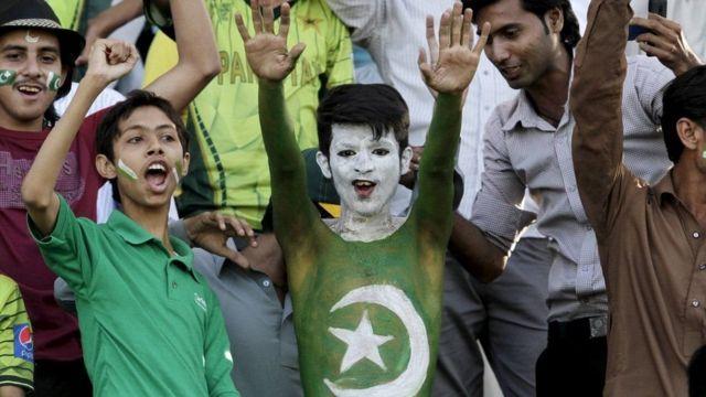 پاکستانی شائقین کرکٹ