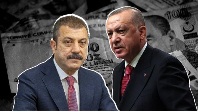 Şahap Kavcıoğlu ve Recep Tayyip Erdoğan