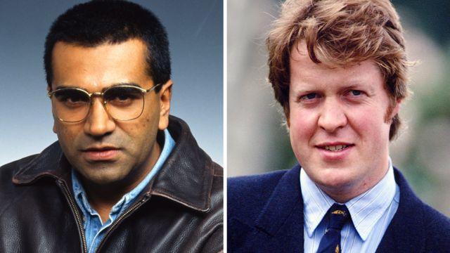 Martin Bashir (1995) and Earl Spencer (1993)