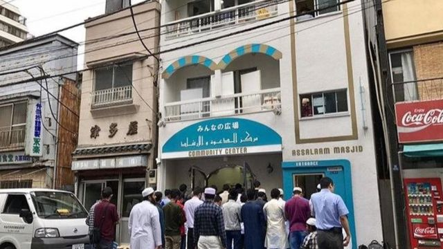 masjid di Jepang.