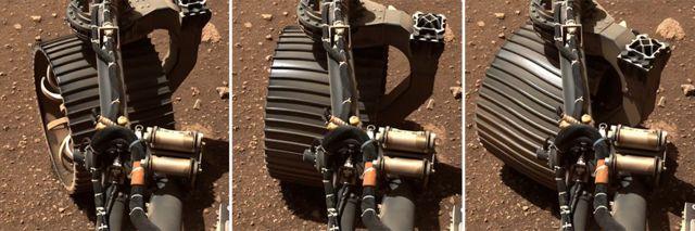 مریخ نورد صاحب چرخ هایی قوی تر از کاوشگرهای قبلی است