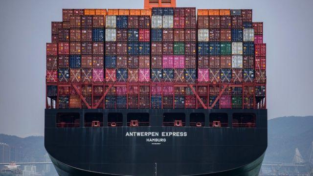 контейнеры судно