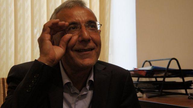 Правозащитник Интигам Алиев: