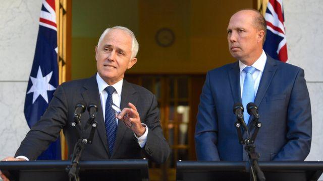 Australia, Turnbull, Dutton