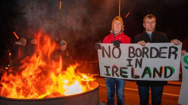 """""""Нет границе в Ирландии"""". ЕС тут добился своего, и граница фактически пролегла внутри Великобритании"""