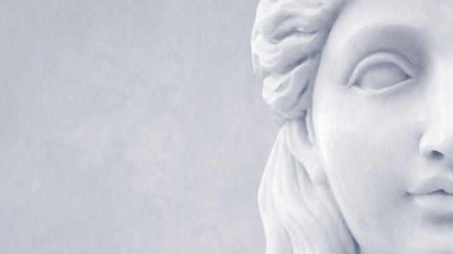 Una estatua griega. Foto genérica