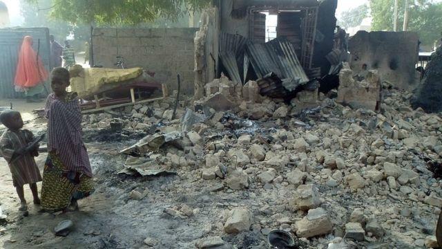 Obodo ndị Boko Haram wakporo