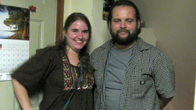 early photo of Joshua Boyle and Caitlan Coleman
