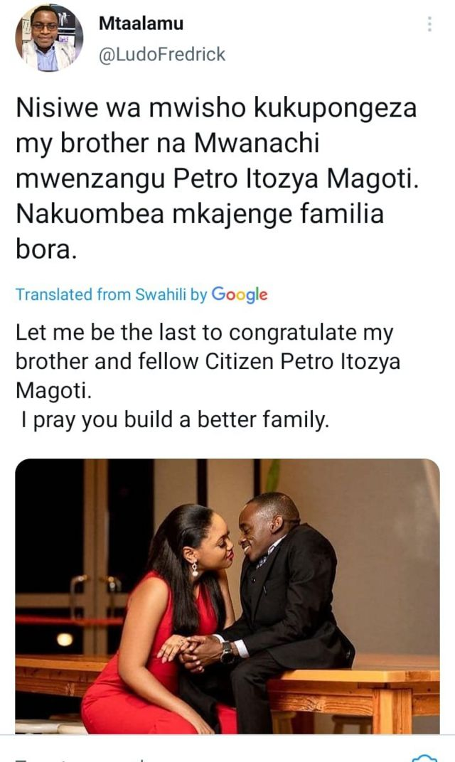 The love story behind Petro Magoti and Joyce