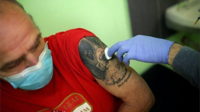 vacunación en Bulgaria