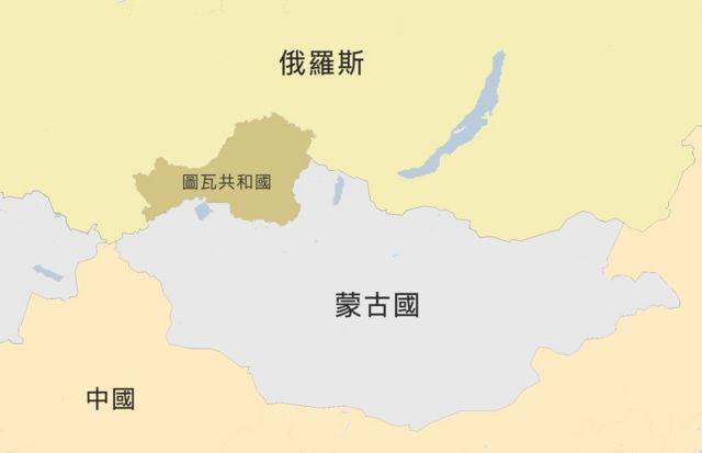 图瓦共和国地图