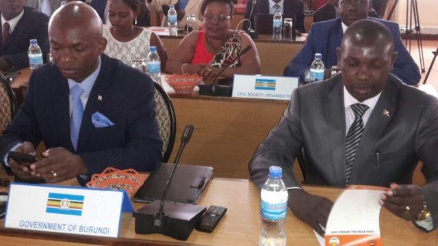 Alain Nyamitwe and Pascal Barandagiye