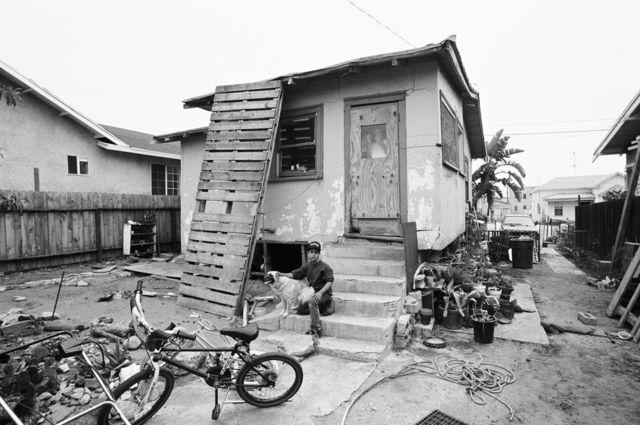 شرقي لوس أنجيليس عام 1991.