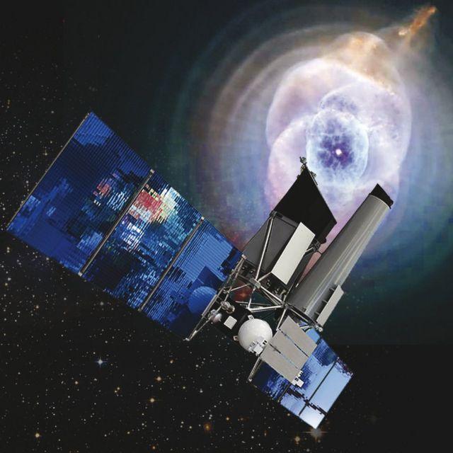 Telescopio en el espacio
