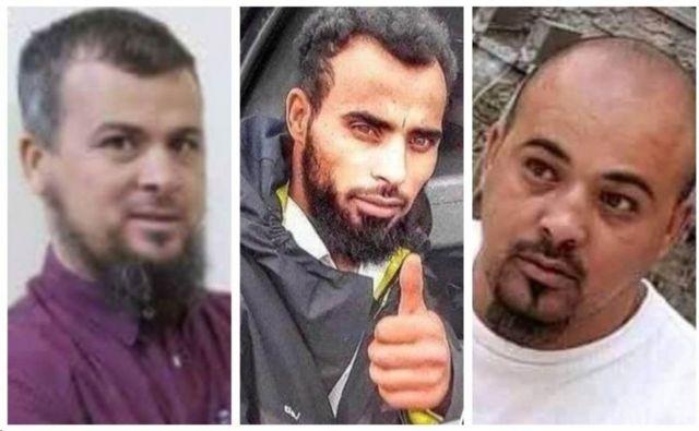 Ο Salafi Muhammad al-Kani (αριστερά) και οι κύριοι δολοφόνοι, ο Mohsen και ο Abdel-Rahim