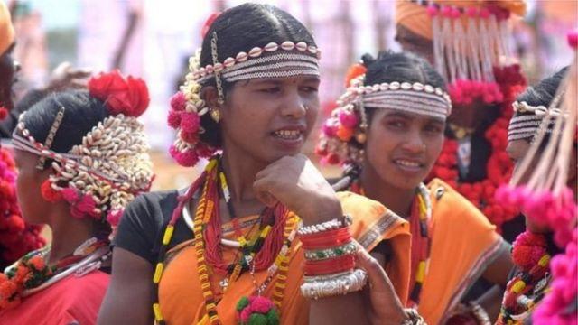 ఛత్తీస్గఢ్లో గిరిజనులు