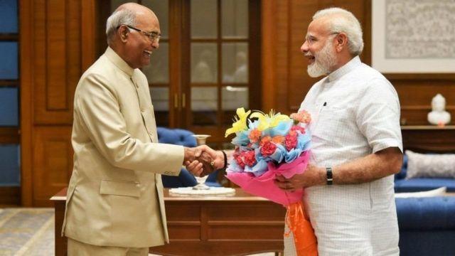 PM Modi dan Kovind