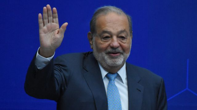 Carlos Slim, August 2018