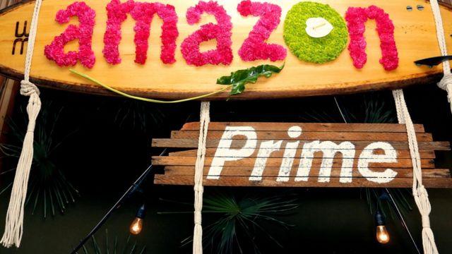 Cartel de Amazon Premium